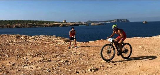 Kevin Europeo Multideporte 2018 segmento bici